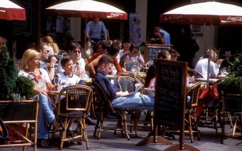 Faire le tour des meilleurs restaurants terrasse Paris