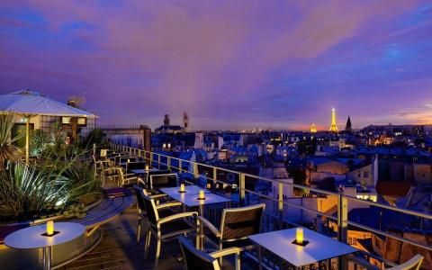 Find seventh heaven amidst the beautiful rooftops of Paris
