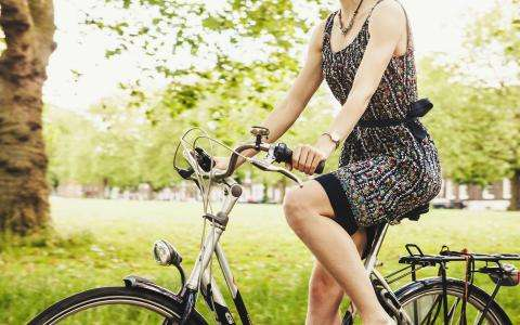 Green tourism; exploring Paris by bike
