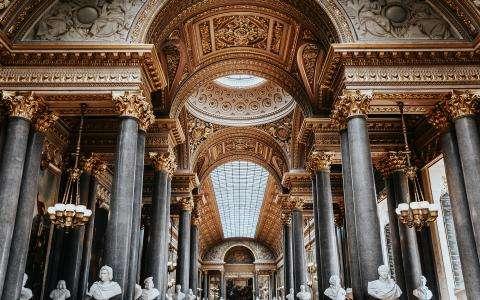 Une heure dorée au château de Versailles